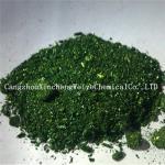 cristaux verts de malachite