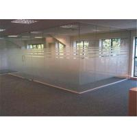 China 4mm  - 19mm Thickness Clear Frosted Glass , Tinted / Colored Frosted Glass on sale
