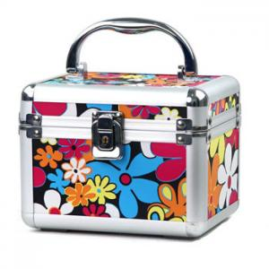 China Custom Decorate Jewelry Train Case Aluminium Material For Travel on sale