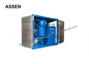 China Metallic weather-proof covered type High voltage Transformer Oil Purification System Plant on sale