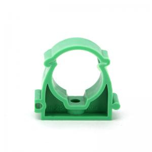 China Casting PPR Pipe Fittings Low Foot U Type Pipe Clamp Corrosion Resistant ISO CE OEM on sale
