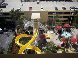 China Hotel open spiral slide ground water slide on sale