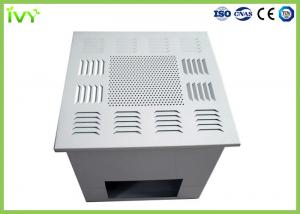 China Fan Powered Hepa Filter Diffuser , Custom Air Filter Box Air Supply Grille on sale