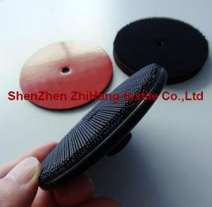 China Abrasive polishing wheel disks with 3M heavy duty Velcro hook on sale