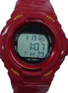 China Water Resistant Sport Wrist Watch EL Backlight For Children on sale