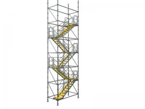 1500x3000mm Safe And Convenient Ring Lock Scaffolding