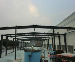 China Modern Light Steel Frame Building , Q235 / Q345 Rustproof Large Span Steel Structures on sale