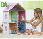 Light Duty Kids Cardboard Playhouse , Cardboard Houses For Kids To Color