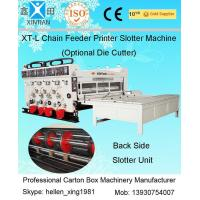 Corrugated Cardboard Flexo Printer Slotter Machine with 3000mm Inboard Width
