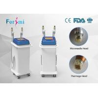 Thermal RF And Fractional max rf skin treatment safety and easy assignment radio frequency face lift