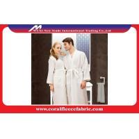 White Waffle Kimono Luxury Bathrobes for Couples