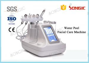 China 5 In1 Water Peel Facial Skin Care Crystal And Diamond Microdermabrasion Skin Clean Machine on sale