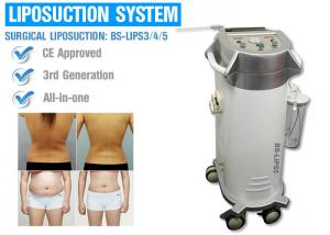 China Power Assisted Surgical Vacuum Liposuction Cavitation Machine For Thighs / Arms / Back Treatment on sale
