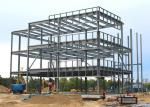 Multi Floors Steel Frame Office Buildings / Prefab Steel Structures Buildings