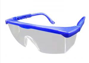 China Double Layer PC Lens Medical Safety Goggles Length Adjustable Leg Design on sale