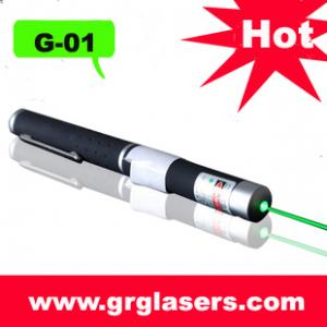 China 5mw esverdeiam a pena do ponteiro do laser meados de - o poder superior aberto 532nm da luz do feijão com a ESCALA de 5 MILHAS feita em China on sale
