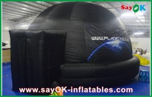 China Negro inflable incombustible de la bóveda del planetario de la proyección con el paño de la proyección on sale