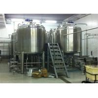Low Noise 5 T/H Apple Juice Production Line With Aseptic Brick Carton Package