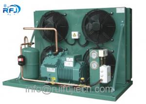 China R404a Air Cooled Condensing Unit For Cold Storage With Bitzer Compressor 4EES-6Y 4TES-12Y 6HE35Y on sale