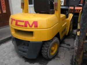 China New Painting 3 Ton Used Forklift Trucks / Second Hand Forklifts on sale