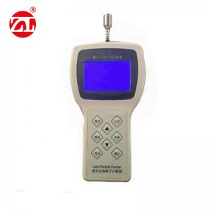 China Portable Laser Dust Particle Counter Used In Beverage Packing Environment on sale