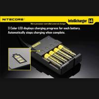 Nitecore i4 charger Universal charger Nitecore Multifuctional wtih CE and RoHs