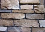 Aの家のための耐久力のある装飾的な人工的なwal石を等級別にして下さい
