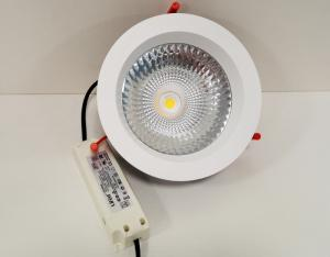 China 18W - 30W Good Heat Diffuser COB LED Down Light Aluminum LED Ceiling Lights For Residential on sale