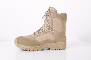 China Shoes Factory Khaki color military boots crossfit shoes desert boots in stock on sale