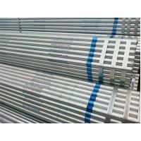 China ERW Schedule 80 Galvanized Steel Pipe Hot Rolled Thick Wall API5L GR.B on sale