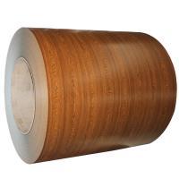Wood Grain PPGI Coil Sheet / Prepainted Galvanized Steel Coil GB Standard