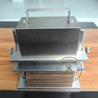 China Stainless Steel Textile Lab Equipment , Perspiration Tester For Colour Fastness Test on sale