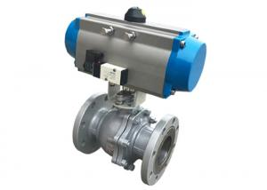 China Pneumatic Control Sanitary Stainless Steel Ball Valve For Water Pipe on sale