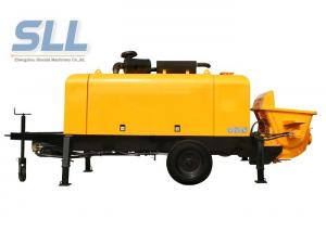 China Energy Saving Stationary Concrete Pump Trailer For Construction 1 Year Warranty on sale