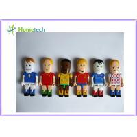 Plastic 3D Character Customized USB Drives / USB Memory Drive Cute
