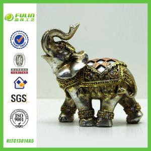 China Table Resin Elephant Sculpture L8.50*W4.50*H8.50cm on sale