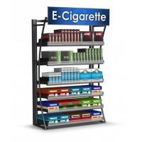 Custom Made Cigarette Display Case , Overhead Cigarette Racks For Convenience Store