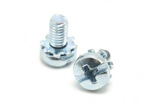 China Stainless Steel Pan Head Sems Screw / Sems Machine Screw Phillips Slot Combo Drive on sale