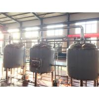 10bbl Craft Commercial Beer Brewing Equipment PU Foam Insulation Steam Electrical Heating