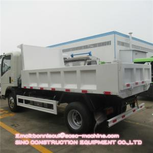 China Left Hand Drive Truck 5 Ton Euro 3 Light Commercial Trucks Signal Cabin Color on sale