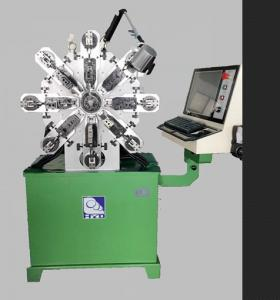 Quality 380V 50Hz Steel Spring CNC Spring Machine High Precision With Ten Axes for sale