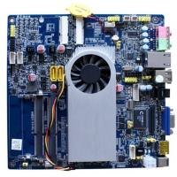 China AMD Zacate APU E450 1.65G Mini ITX Mainboards For All In One IPC PT-E450 on sale