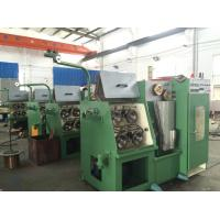 Steel Plate Welded Frame Cu Wire Drawing Machine With Electrical Control System