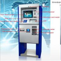 China Automatic Car Parking Payment Terminal on sale