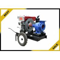 High Pressure Water Pump Single Stage , Agriculture Diesel Engine Pump Irrigation