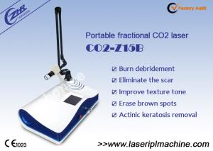 China Portable 2 in 1 System Skin Resurfacing Fractional Co2 Laser Mahicne on sale