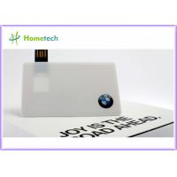 China Custom High Speed Credit Card USB Storage Device USB 2.0 Flash Drive on sale