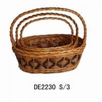 Xmas gift basket. decor.basket.