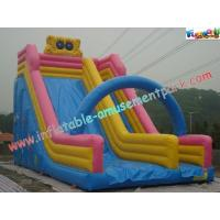 9M Spongebob Commercial Inflatable Water , Inflatable Bouncer Slides
