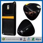 Кожаные случаи сотового телефона галактики S5 SV Samsung с шлицами кредитной карточки